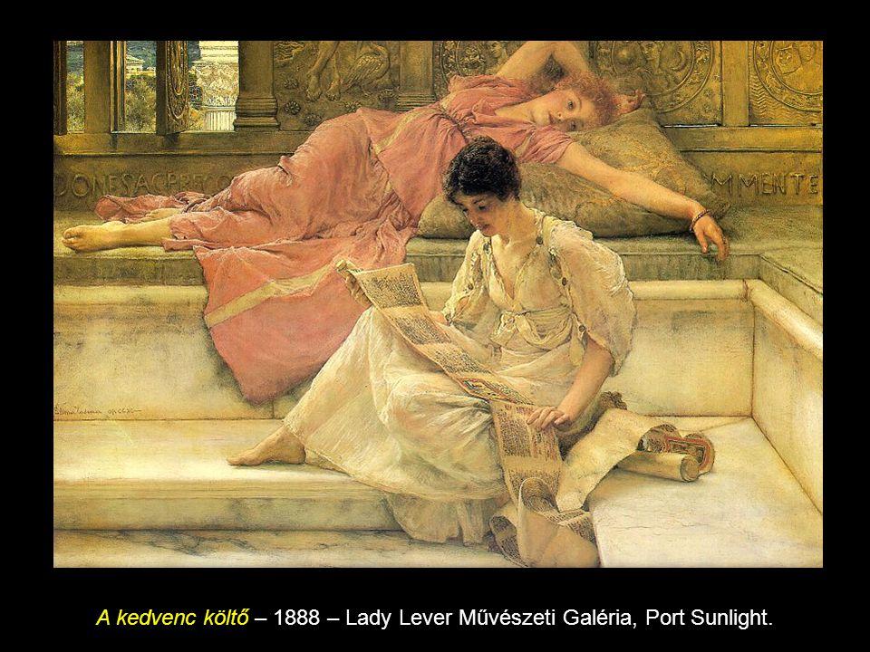 Egy kedvenc vevő 1909, olaj fán, 66 x 46 cm, Tate Gallery, London