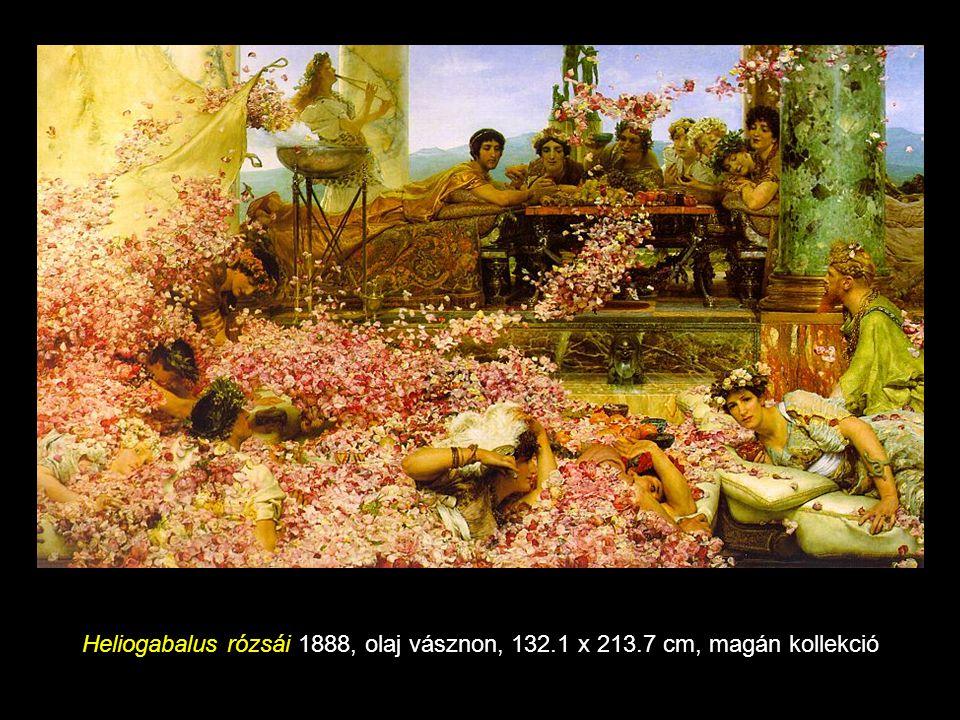 Előnyös helyzet 1895 olaj vásznon, 44.5 x 64 cm, magángyűjtőnél