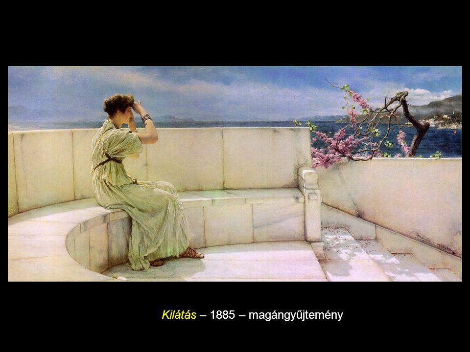 Heliogabalus rózsái 1888, olaj vásznon, 132.1 x 213.7 cm, magán kollekció