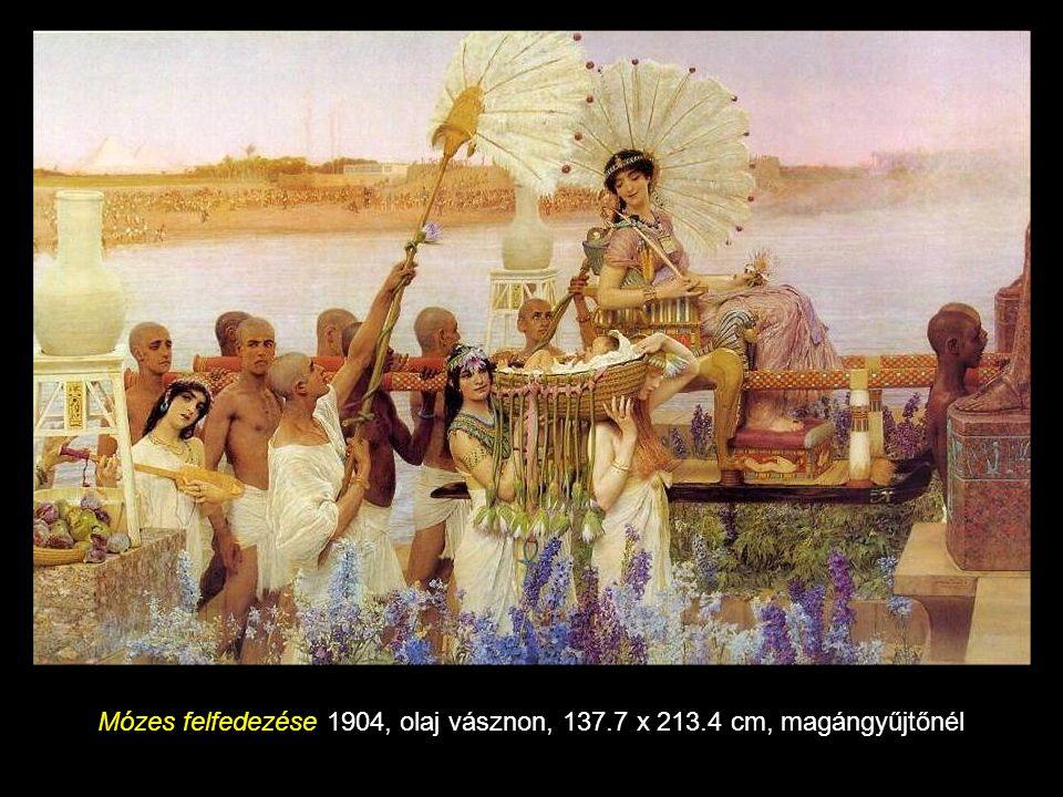 Öntudatlan vetélkedés 1893, olaj panelen, 45 x 63 cm, Bristol Városi Múzeum és Művészeti Galéria