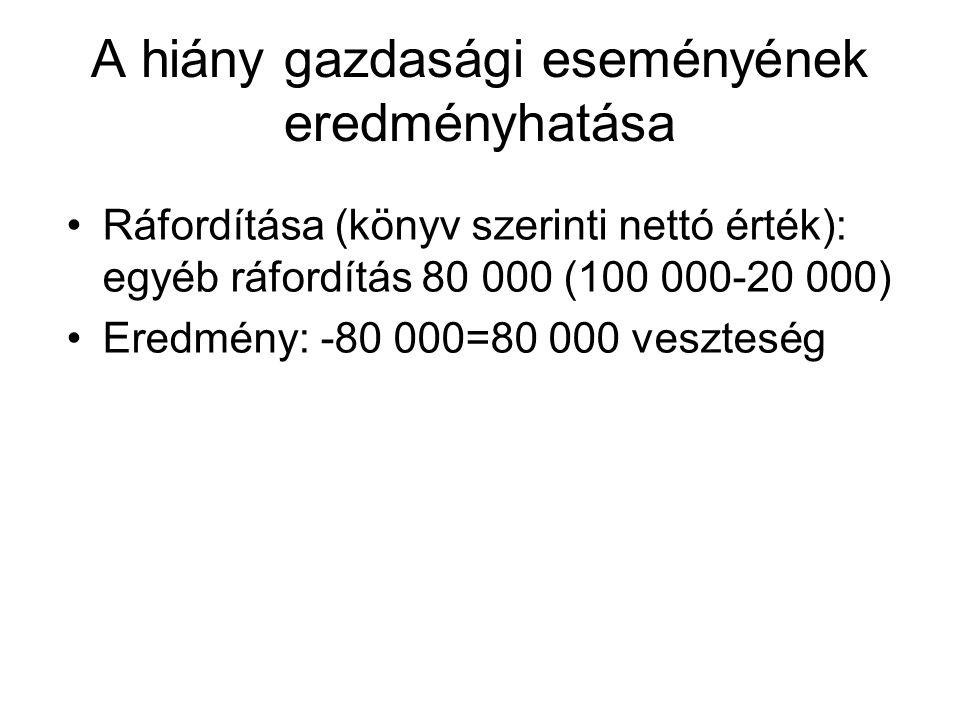 Megoldás Gazdasági eseményT számlaK számlaT összeg eFt K összeg eFt 1.1 Terven felüli écs elszámolása 86614880 1.2 Terven felüli écs kivezetése 14814180 1.1 Terv szerinti écs elszámolása 14914120