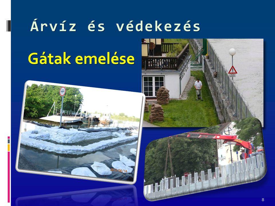 Árvíz és védekezés 9 Dunaszekcső 2013