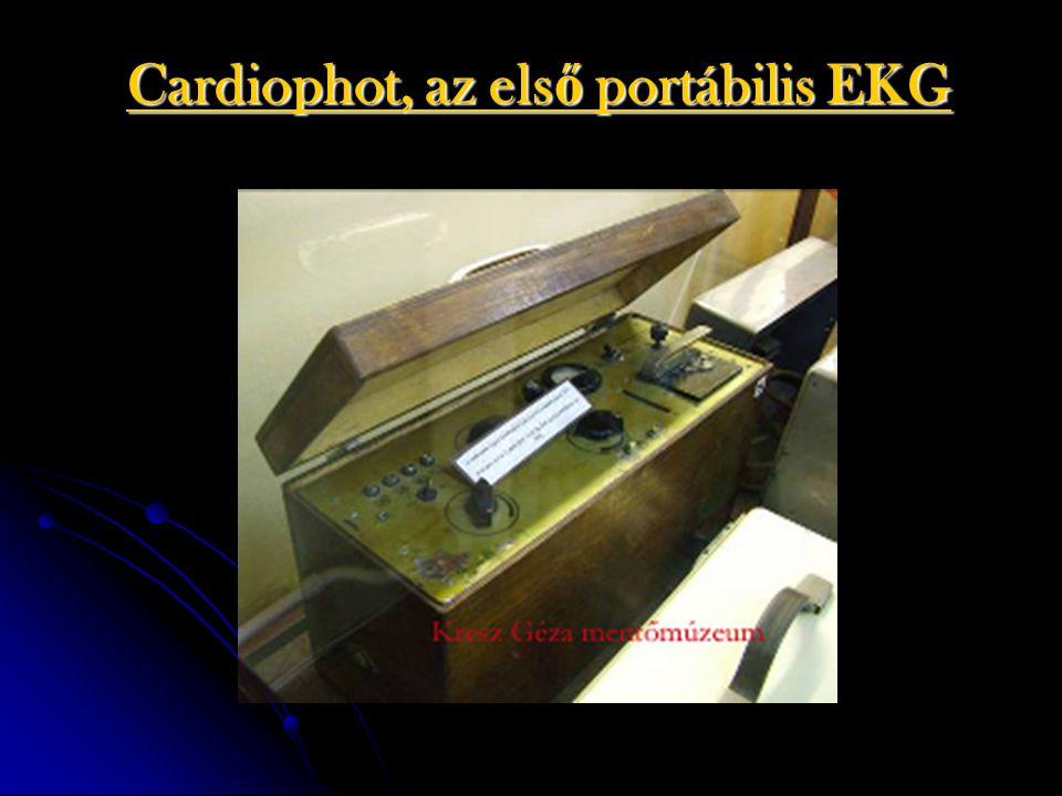 Cardiophot, az els ő portábilis EKG