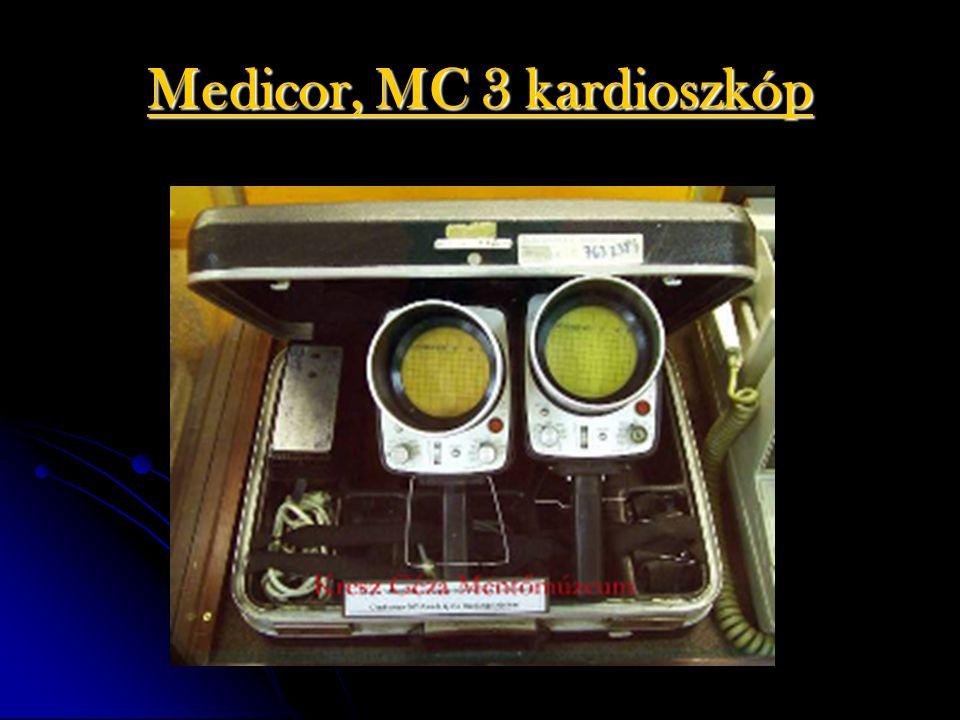 Medicor, MC 3 kardioszkóp