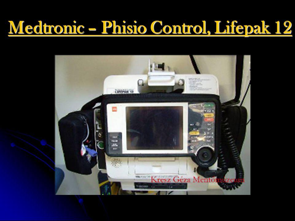 Medtronic – Phisio Control, Lifepak 12
