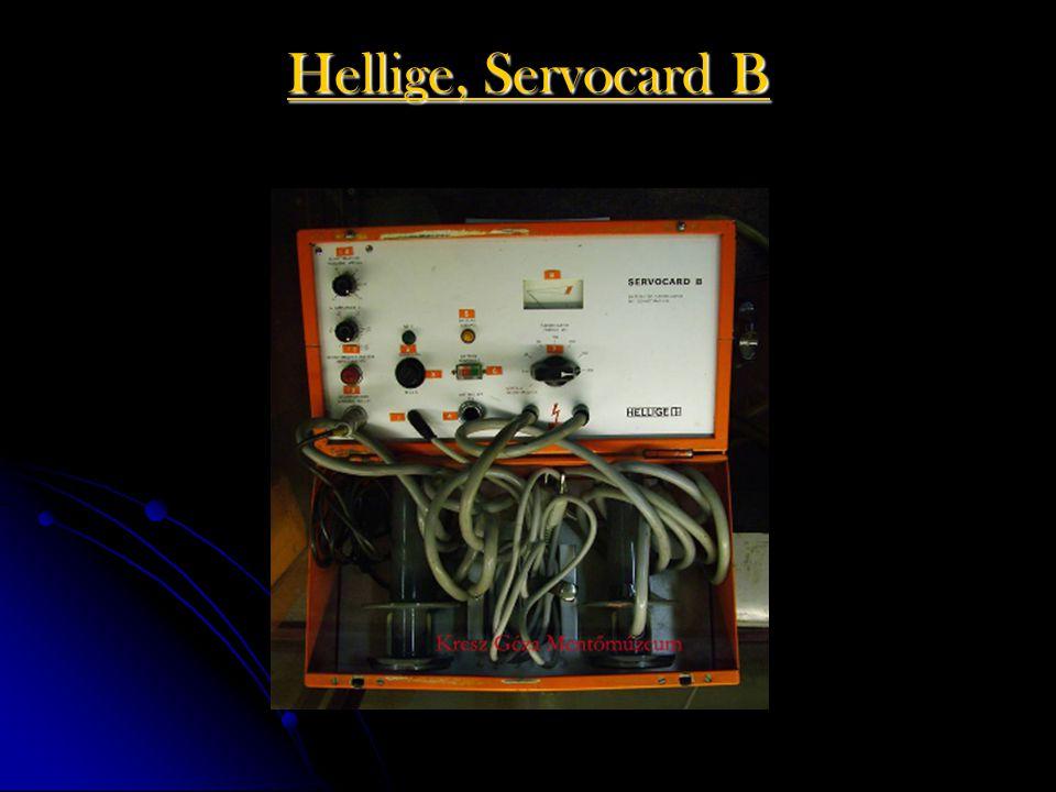 Hellige, Servocard B