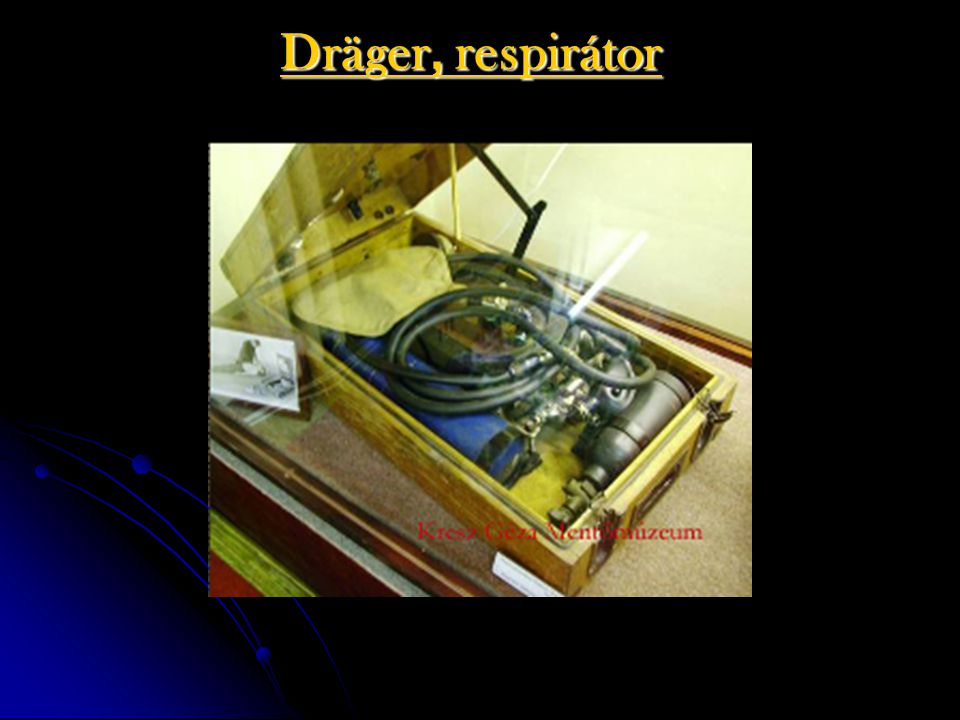 Dräger, respirátor