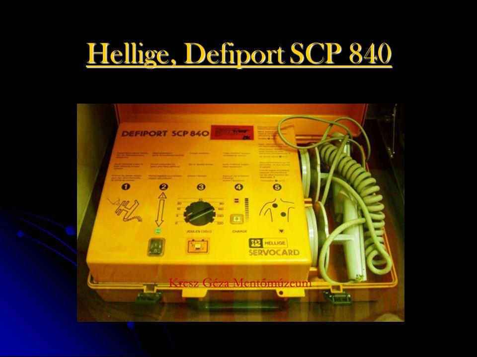 Hellige, Defiport SCP 840