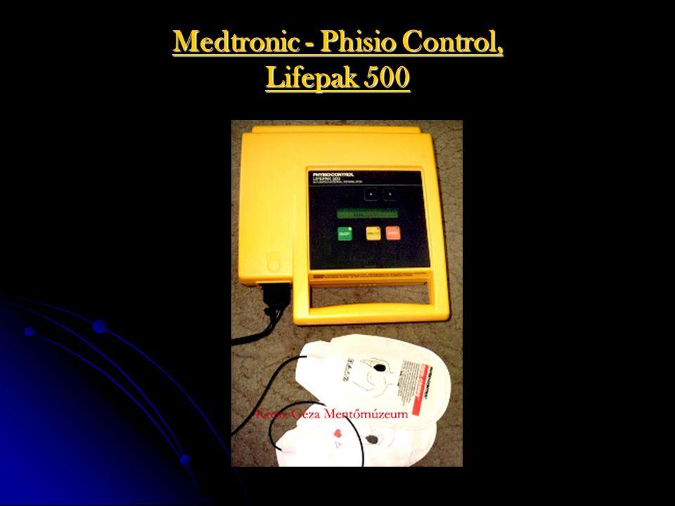 Medtronic - Phisio Control, Lifepak 500