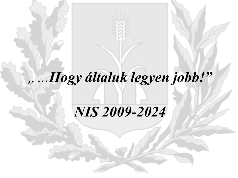 """""""…Hogy általuk legyen jobb! NIS 2009-2024"""