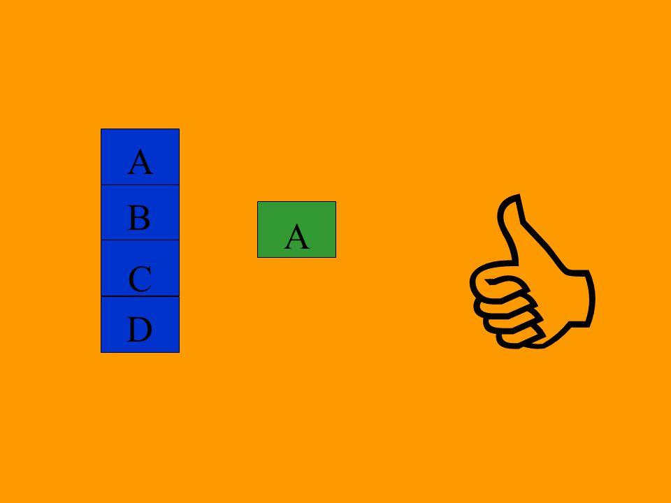 A C B D A 