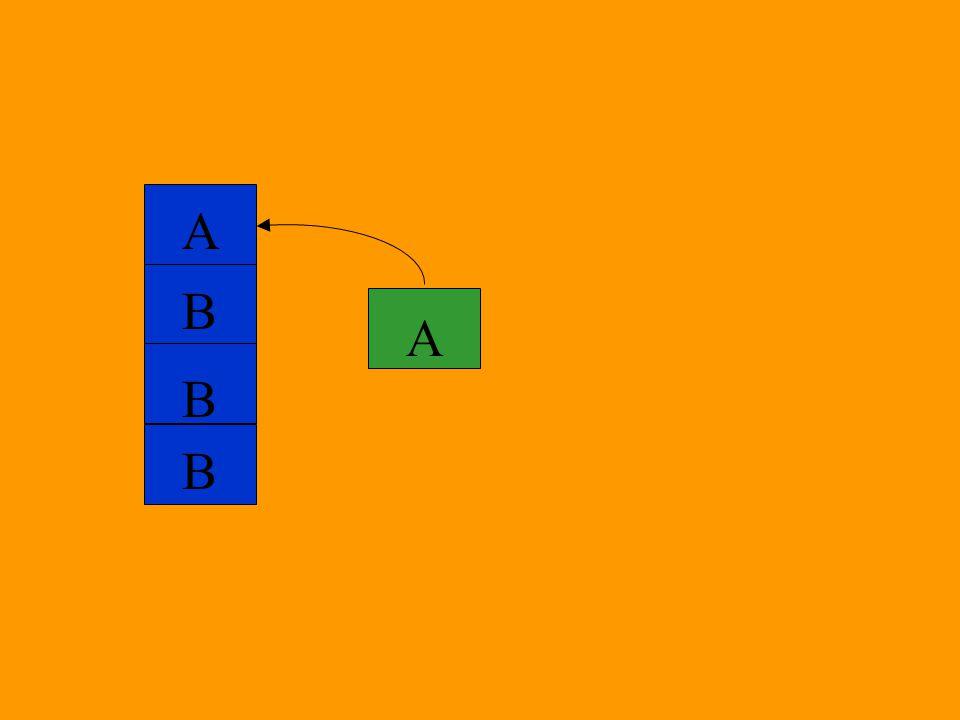 A B B B A