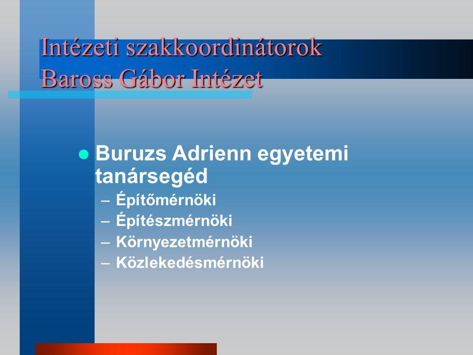 Szakkoordinátor Deák Ferenc Kar Dr. Horváthy Balázs egyetemi adjunktus Dr.