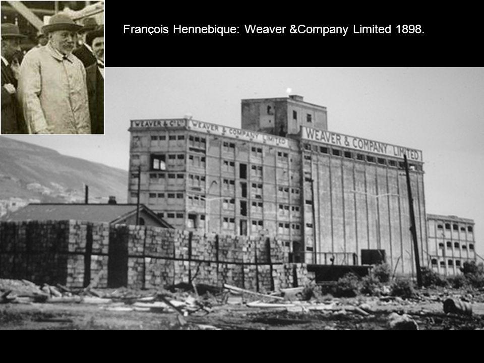 François Hennebique: Weaver &Company Limited 1898.