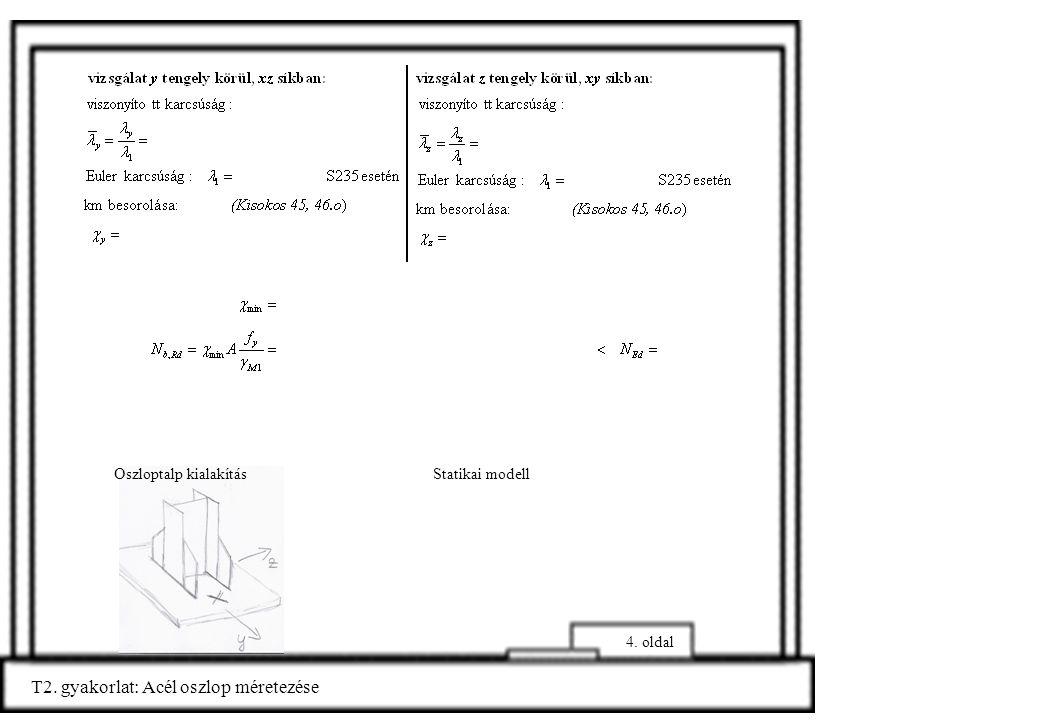 T2.gyakorlat: Acél oszlop méretezése 5.