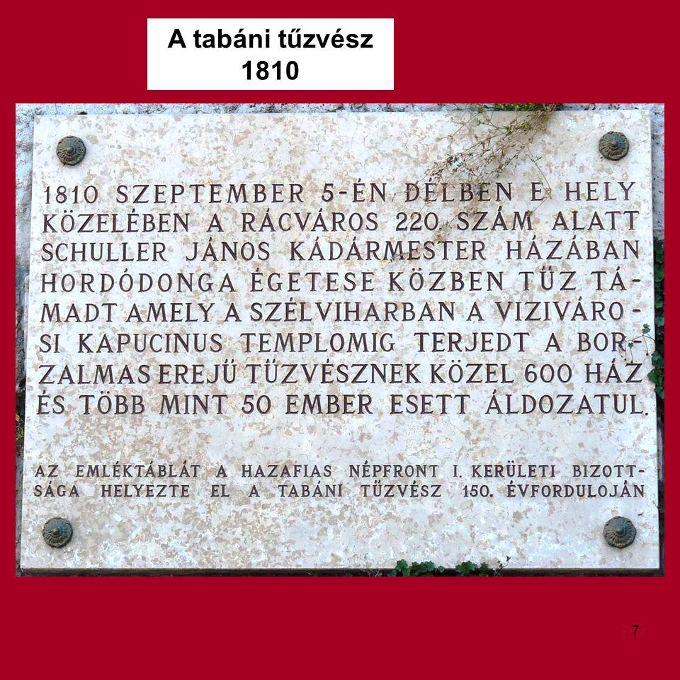 A tabáni tűzvész 1810 7