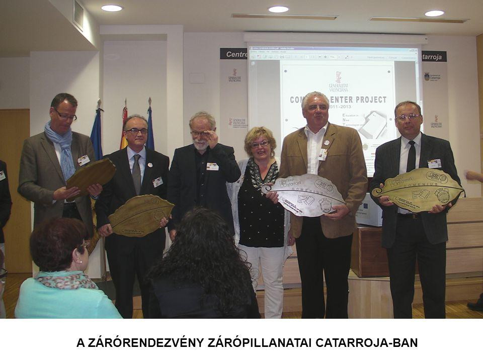 A ZÁRÓRENDEZVÉNY ZÁRÓPILLANATAI CATARROJA-BAN