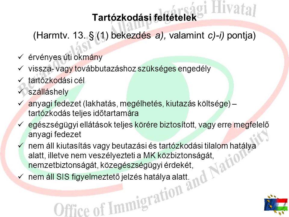 A harmadik országbeli állampolgárok beutazásáról és tartózkodásáról szóló 2007. évi II. törvényt és végrehajtási rendeletét érintő változások