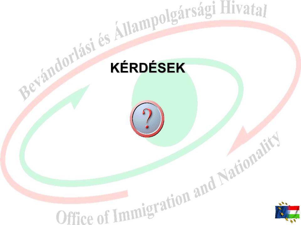 Szakhatósági eljárás 168/2011. (VIII. 24.) Korm. rend  Munkaügyi központ: –a munkavállalás engedélyezését támogatja vagy nem támogatja –Illetékesség: