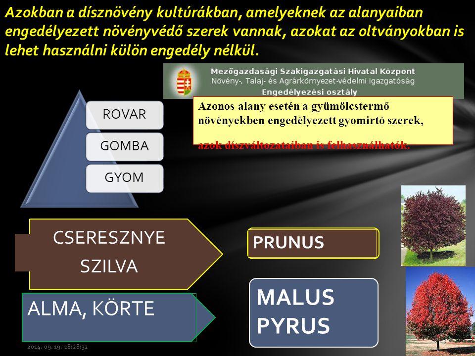 Amistar, Discus DF, Karathane LC.Cosavet DF, Systhane MZ, Topas 100EC.