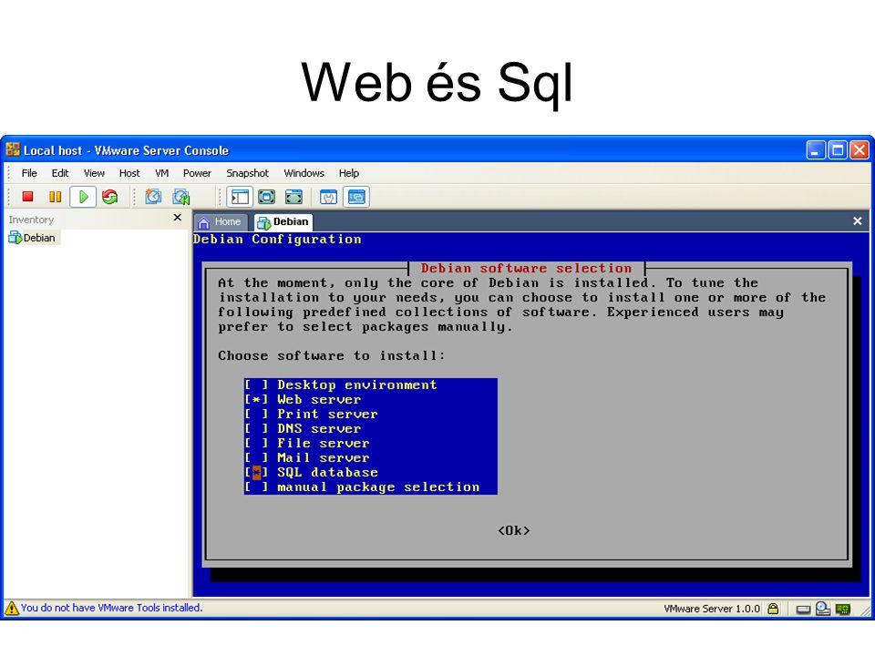 Web és Sql