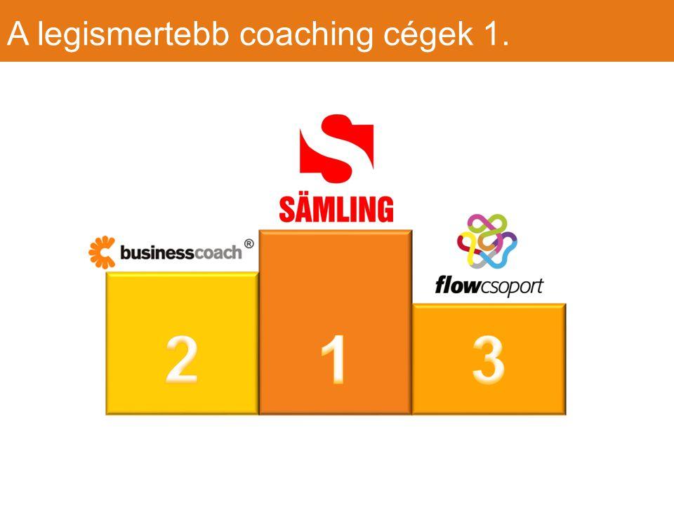 A legismertebb coaching cégek 1.