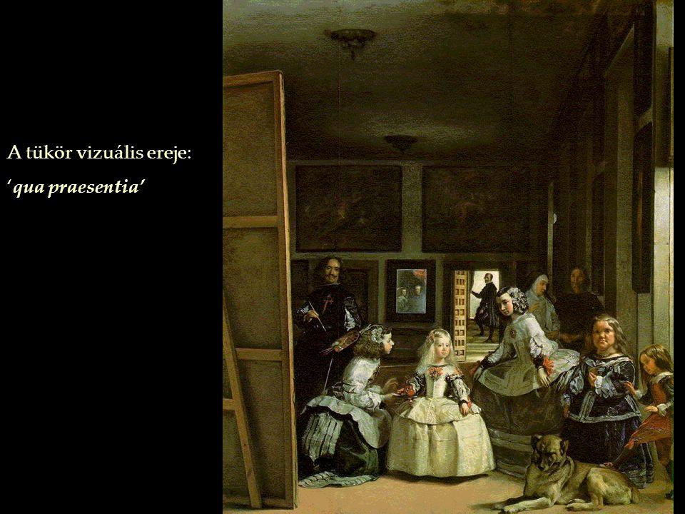 A tükör vizuális ereje: 'qua praesentia'
