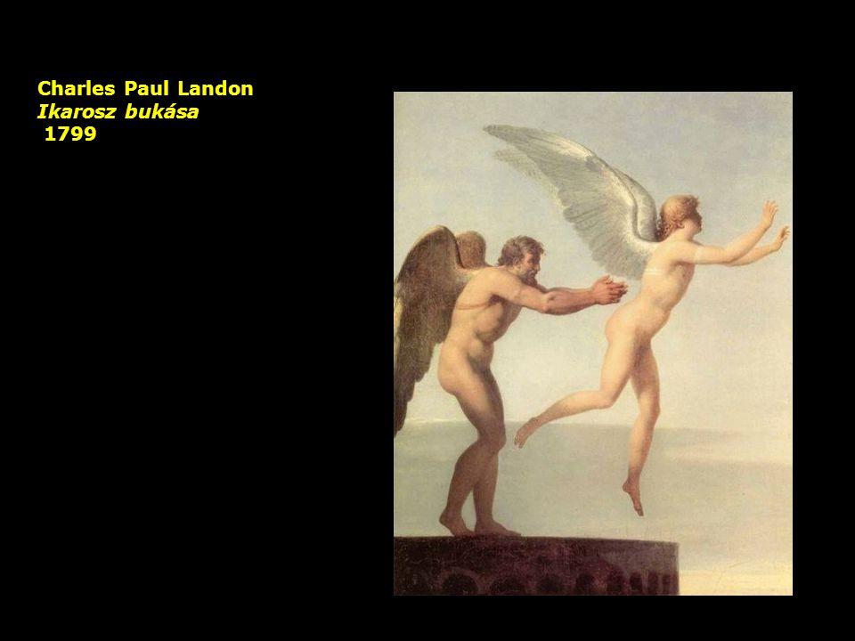 Charles Paul Landon Ikarosz bukása 1799