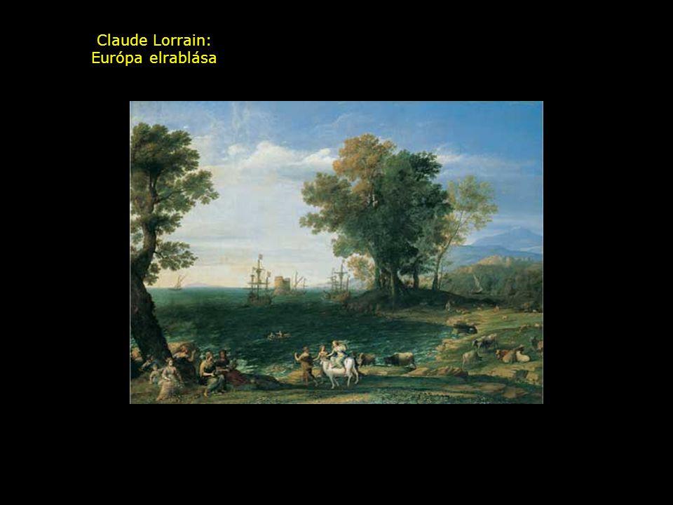 Claude Lorrain: Európa elrablása