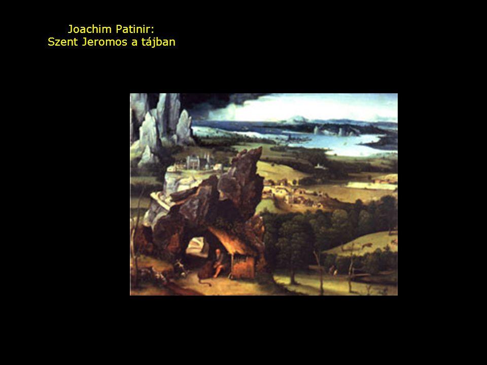 Joachim Patinir: Szent Jeromos a tájban