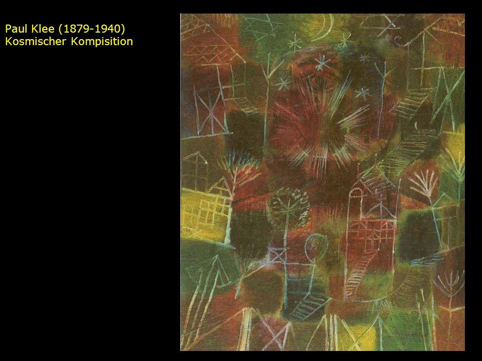 Paul Klee (1879-1940) Kosmischer Kompisition