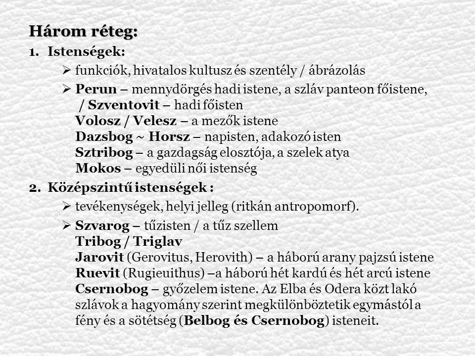 Jan Długosz (Johannes Dlugossius / Johannes Longinus) A lengyel királyság története (1460 körül, Annales seu cronicae incliti Regni Poloniae): Jesza – Jupiter, Lyada – Mars, Dzydzilelya – Vénusz, Dzewana – Diána, Zywye – Vita (élet), stb.