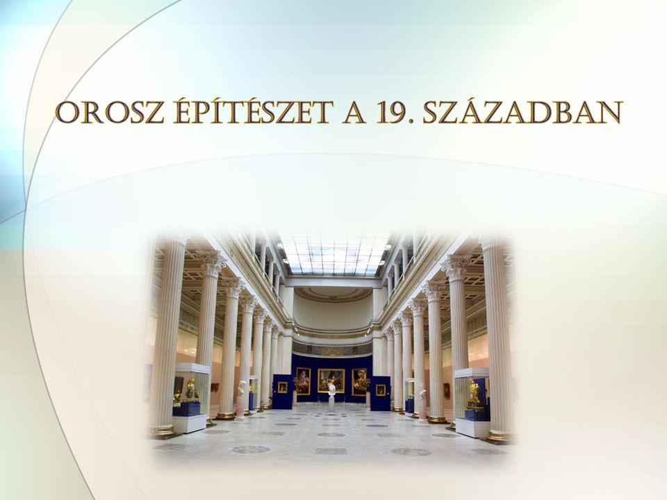 1. 3. 2. (1) Palota tér (1819-29), (2) Szenátustér (1829-34), (3) Admiralitástér