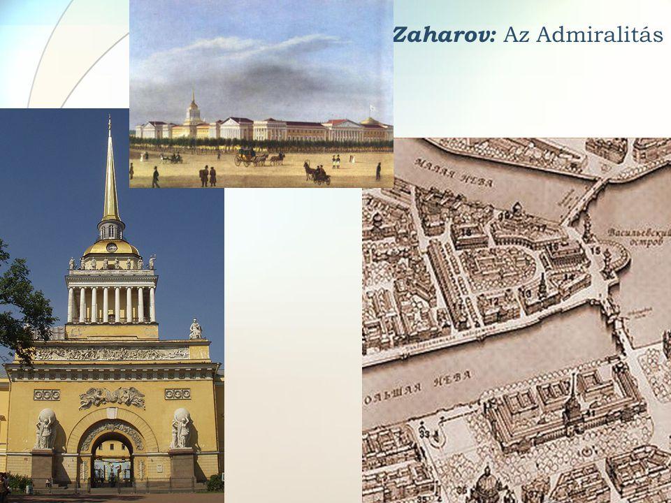A. Zaharov: Az Admiralitás