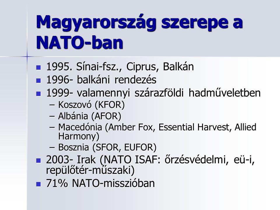 1995.Sínai-fsz., Ciprus, Balkán 1995.