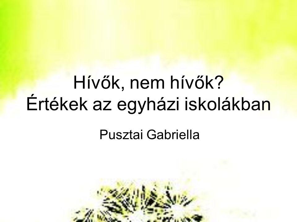 1.Vallásosság Magyarországon 2. A felekezeti iskolák és társadalmuk 3.