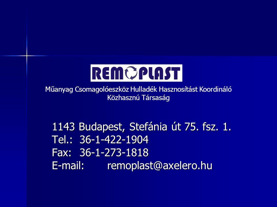 1143 Budapest, Stefánia út 75.fsz. 1.