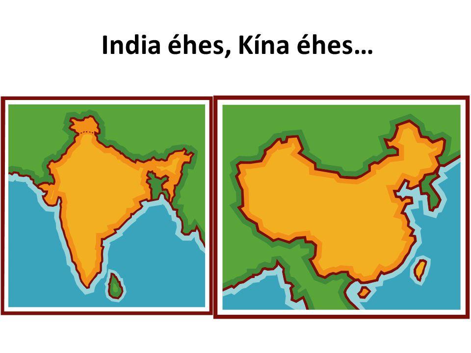 India éhes, Kína éhes…