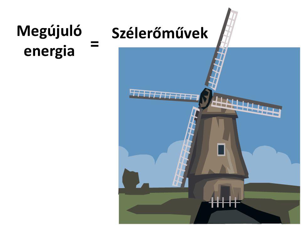 Megújuló energia Szélerőművek =
