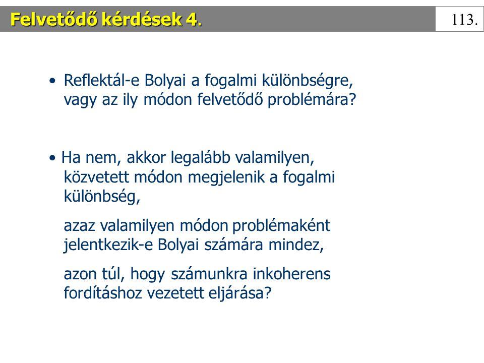 Felvetődő kérdések 4.