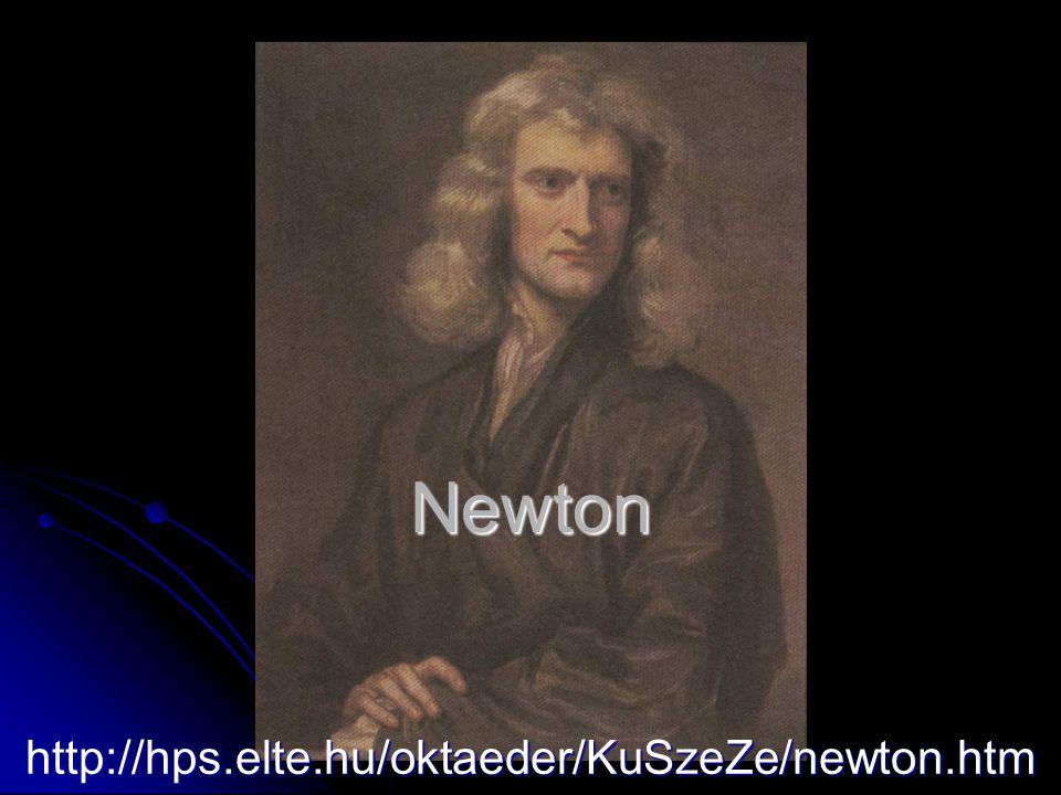 Newton http://hps.elte.hu/oktaeder/KuSzeZe/newton.htm