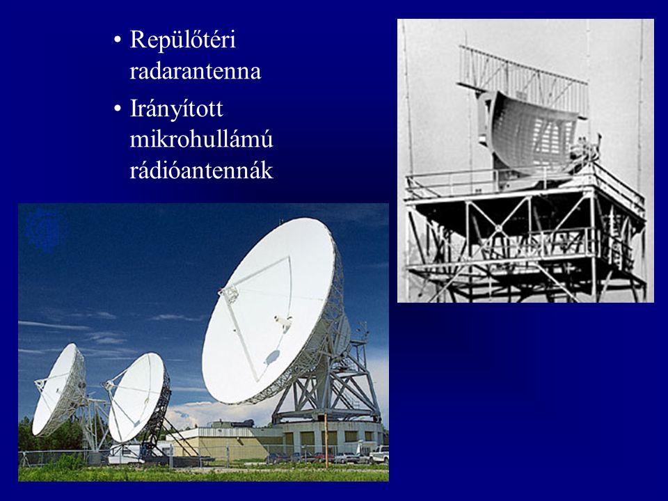 Repülőtéri radarantenna Irányított mikrohullámú rádióantennák
