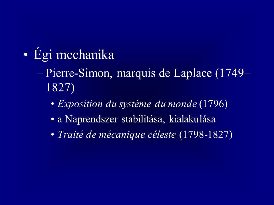 Thomas Newcomen (1663-1729) –gőzgép (1705-1712)