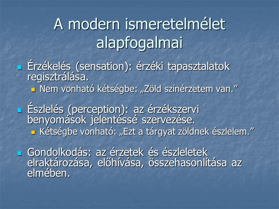 Aquinói Szent Tamás Arisztotelész skolasztikus továbbfejlesztője Arisztotelész skolasztikus továbbfejlesztője A képzet kettős aspektusa: érzékelésünk számára egy individuum képmása; gondolkodásunk számára az individuum speciesének formája.