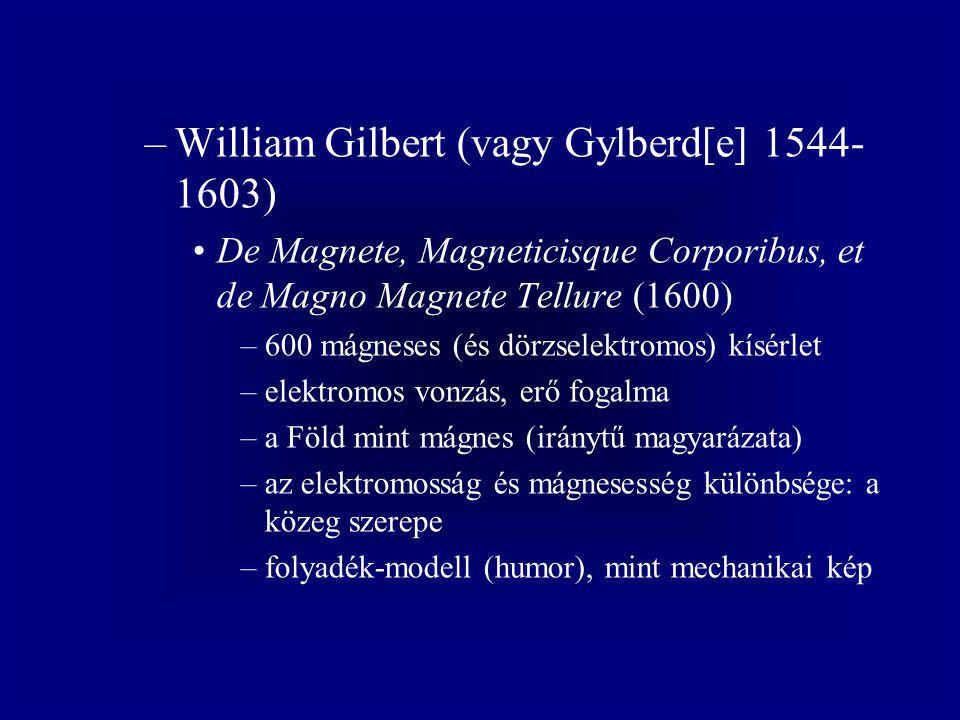 –Humphry Davy (1778-1829) fémsók bontása (1807) a vezetők ellenállása –Georg Simon Ohm (1789-1854) áramköri törvény (1826) –Gustav Robert Kirchhoff (1824- 1887) csomóponti törvény (1854)