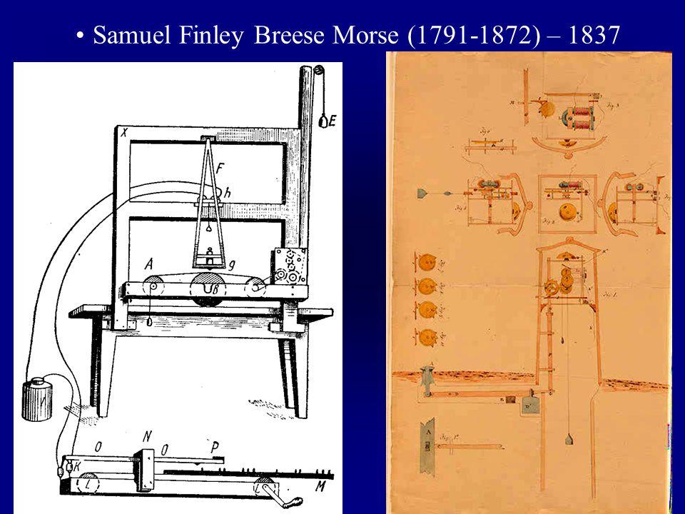 Samuel Finley Breese Morse (1791-1872) – 1837