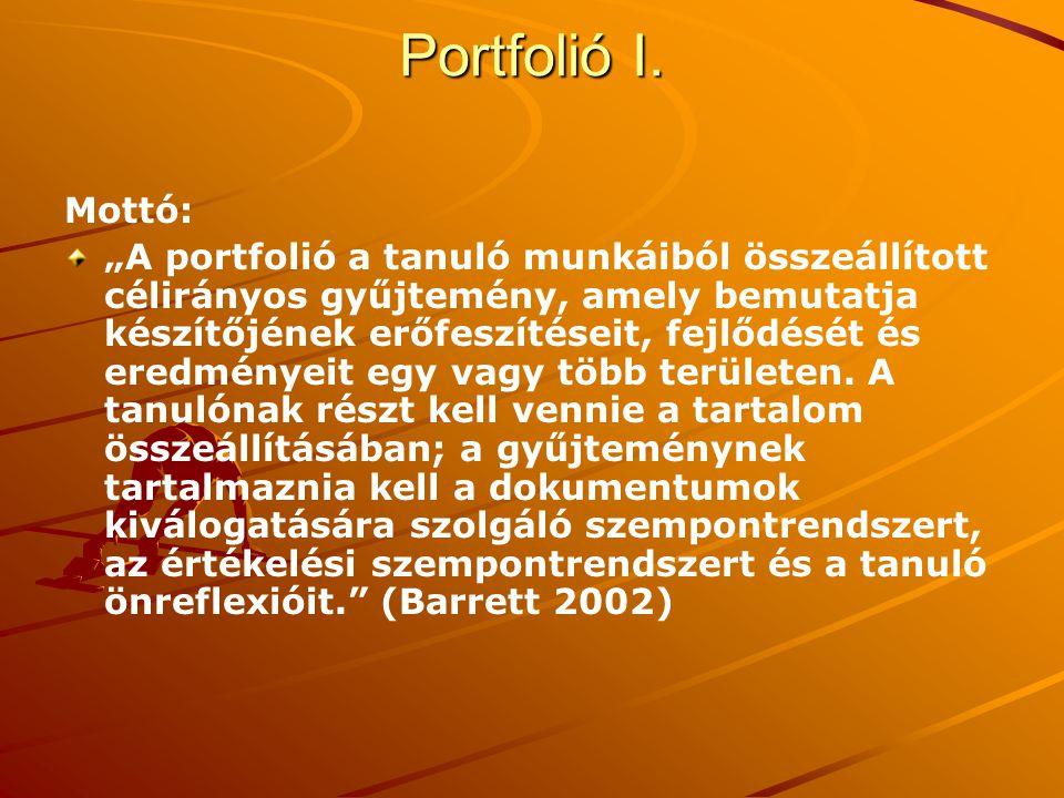 Portfolió I.