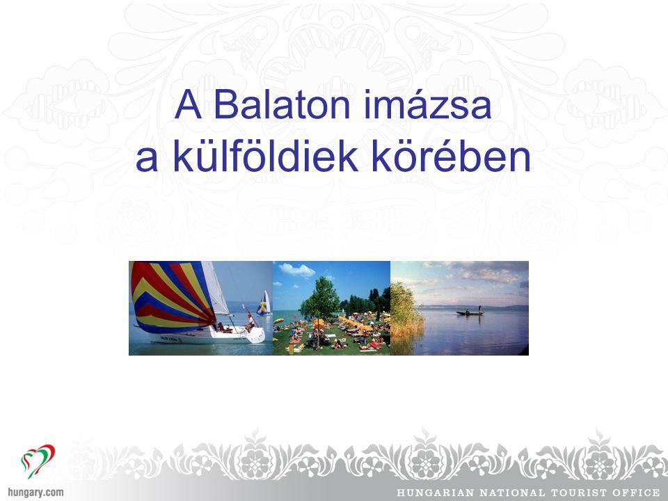 A Balaton imázsa a külföldiek körében