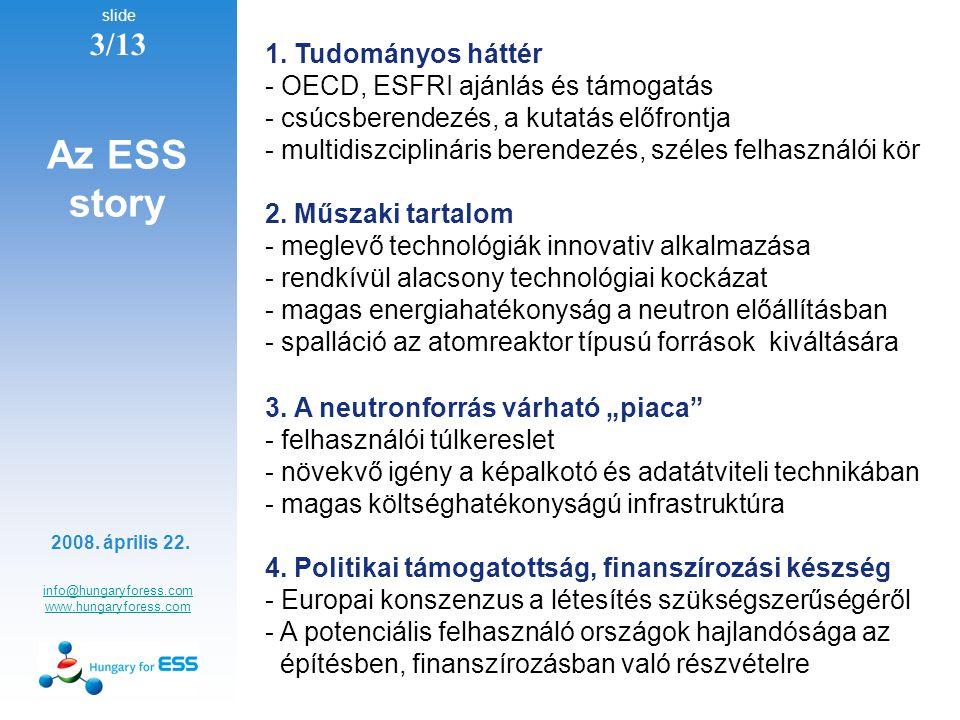 slide 3/13 info@hungaryforess.com www.hungaryforess.com 2008.