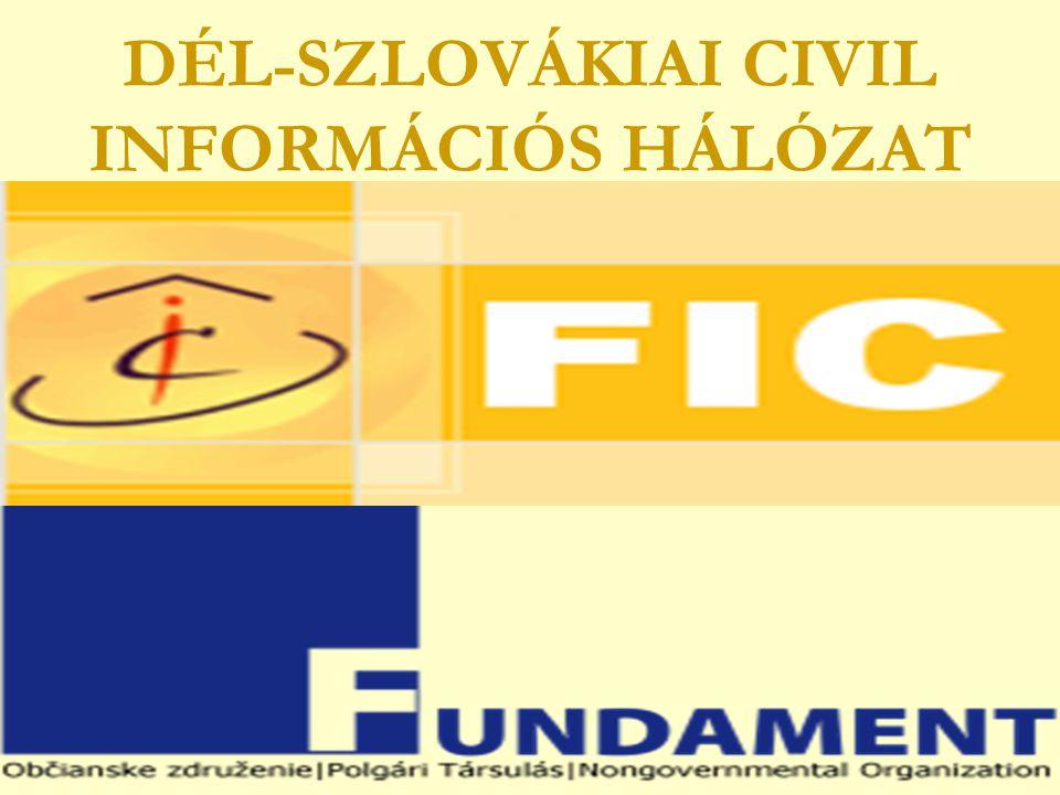 DÉL-SZLOVÁKIAI CIVIL INFORMÁCIÓS HÁLÓZAT